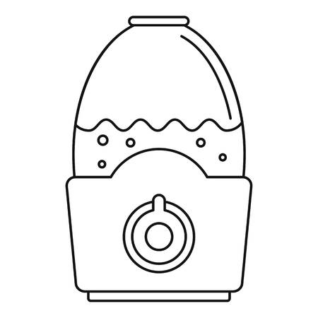 Healthy humidifier icon. Outline healthy humidifier vector icon for web design isolated on white background