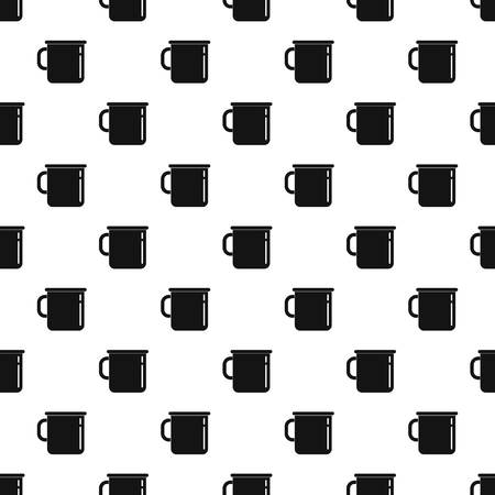 Metal cup pattern seamless vector repeat geometric for any web design
