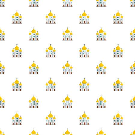 Church pattern seamless vector