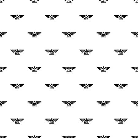 Elite pattern seamless vector