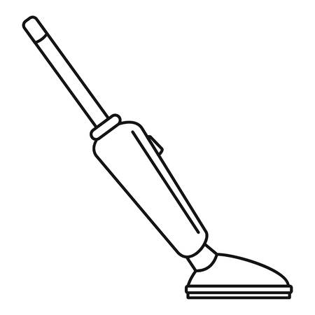 Car vacuum cleaner icon, outline style 写真素材