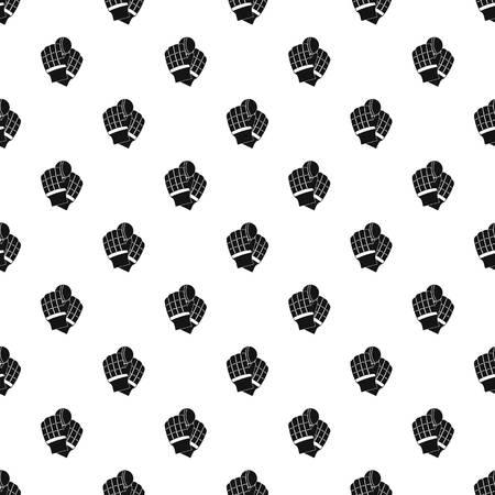 Cricket gloves pattern seamless 写真素材