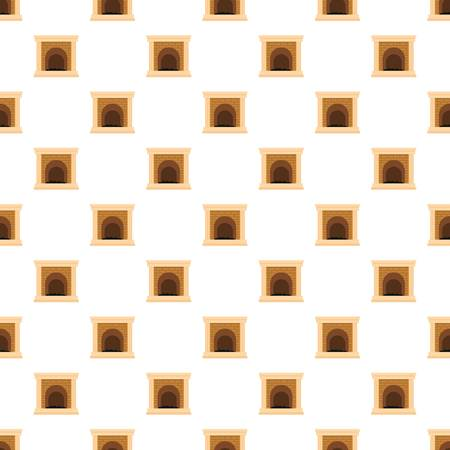 Fireplace for fire pattern seamless
