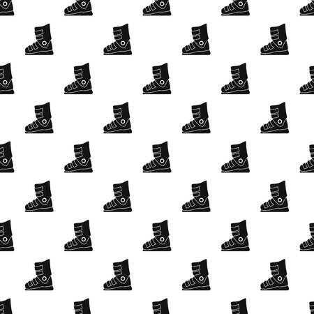 Ski boots pattern seamless 版權商用圖片