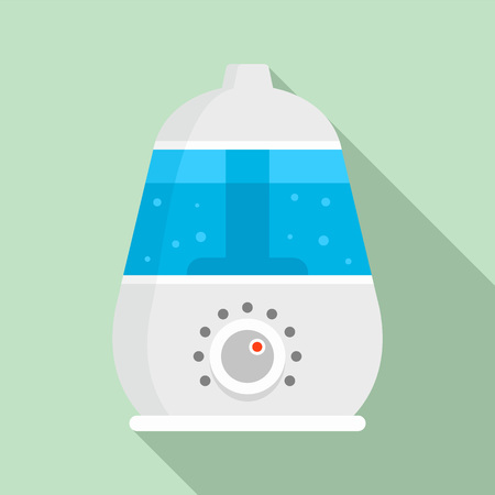 Healthy humidifier icon. Flat illustration of healthy humidifier vector icon for web design Иллюстрация