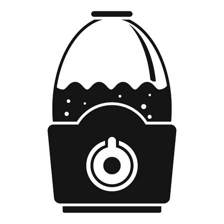 Healthy humidifier icon. Simple illustration of healthy humidifier vector icon for web design isolated on white background Иллюстрация