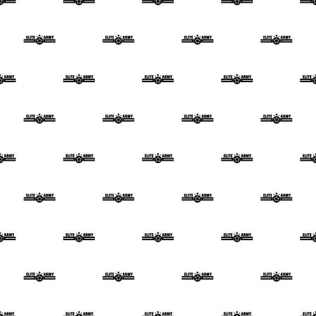 Elite army pattern seamless vector Illustration
