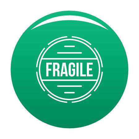 Fragile simple style.