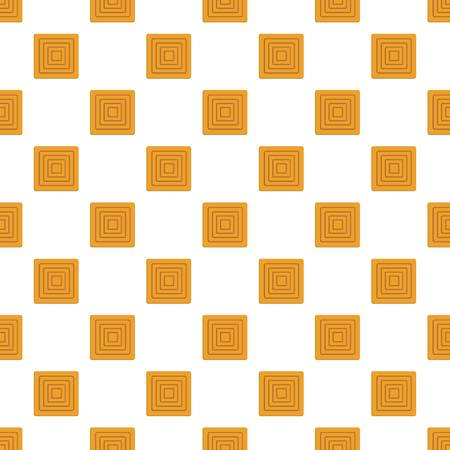 Delicious biscuit pattern seamless vector Vettoriali