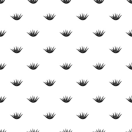 Aloe plant pattern seamless vector repeat geometric for any web design