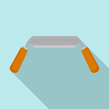 Spokeshave icon. Flat illustration of spokeshave vector icon for web design