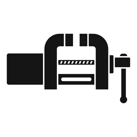 Garage vice icon, simple style