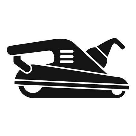 Polish machine icon, simple style