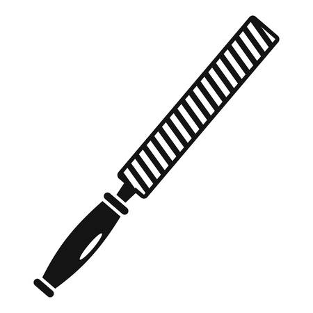 Rasp file icon, simple style