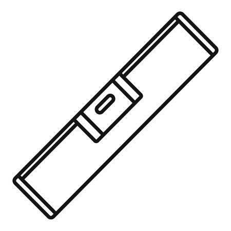 Icône de l'outil de niveau. Icône vecteur outil de niveau de contour pour la conception web isolé sur fond blanc Vecteurs
