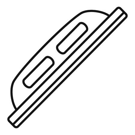Grout construction tool icon. Outline grout construction tool vector icon for web design isolated on white background Иллюстрация