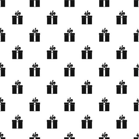 Gift box pattern seamless vector repeat geometric for any web design