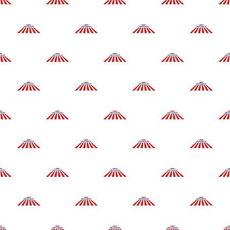 Usa constitution day pattern seamless vector Stock Vector - 118088507