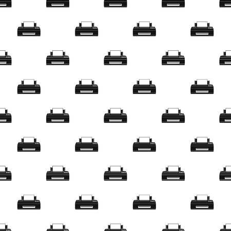 Old printer pattern seamless