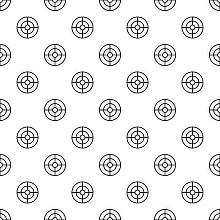 Futuristic aim scope pattern seamless