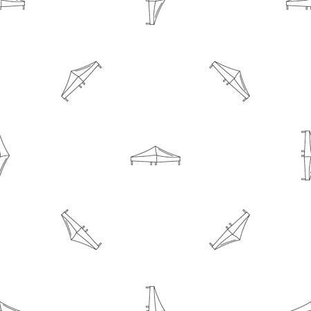 Tent pattern seamless