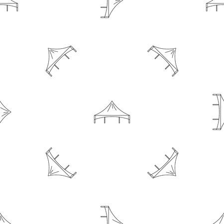 Festival tent pattern seamless 版權商用圖片