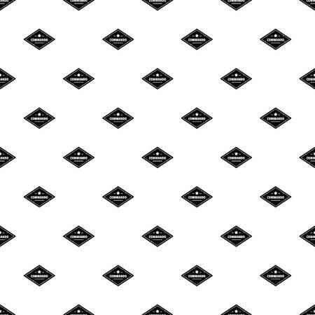 Commando troop pattern seamless Фото со стока