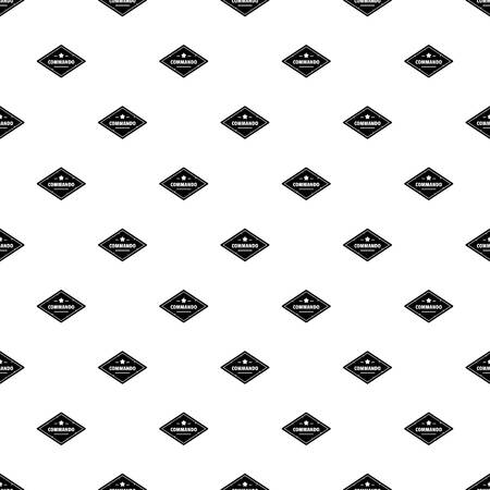 Commando troop pattern seamless Imagens