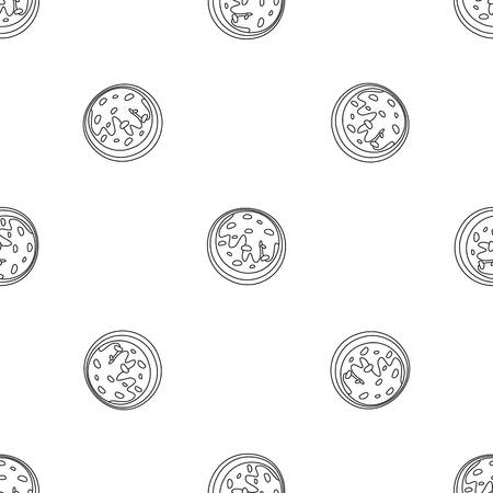 Creme biscuit icon. Outline illustration of creme biscuit vector icon for web design isolated on white background Vector Illustratie