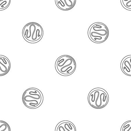 Choco biscuit icon. Outline illustration of choco biscuit vector icon for web design isolated on white background