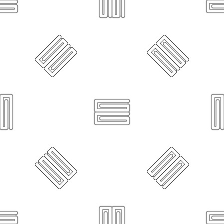 Clothes stack icon. Outline illustration of clothes stack vector icon for web design isolated on white background