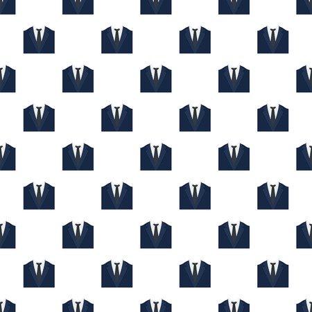 Dinner jacket pattern seamless vector repeat for any web design