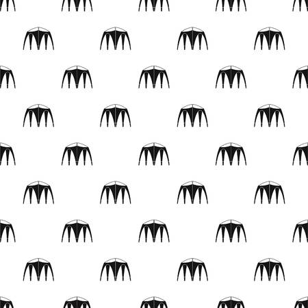 Outdoor tent pattern seamless vector repeat geometric for any web design