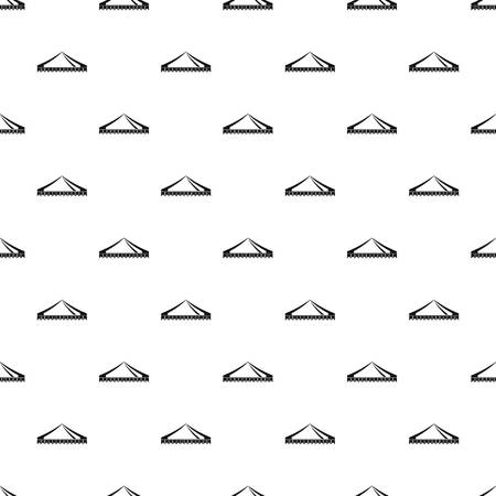 Gazelo tent pattern seamless vector repeat geometric for any web design