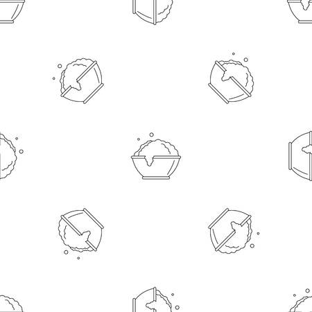 Laundry bubble icon. Outline illustration of laundry bubble vector icon for web design isolated on white background