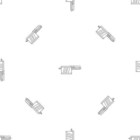Hot saucepan icon. Outline illustration of hot saucepan vector icon for web design isolated on white background