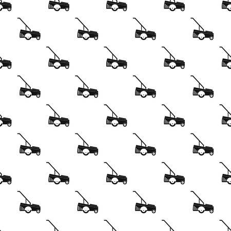 Motor Grasschneider Muster nahtlose Vektor wiederholen geometrisch für jedes Webdesign