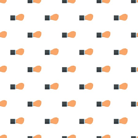 Fist pattern seamless vector