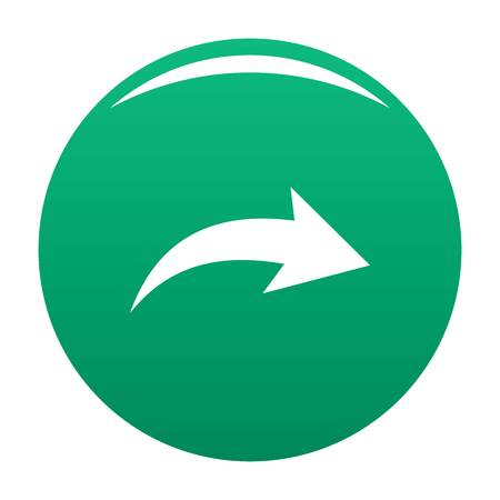 Arrow icon green Banque d'images - 114699915