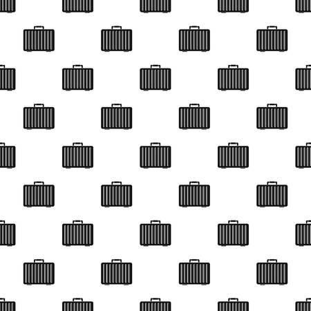 Metal hand bag pattern seamless vector repeat geometric for any web design
