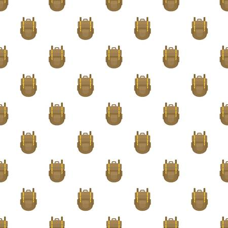 Explore backpack pattern seamless vector repeat for any web design