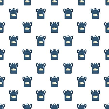 Student backpack pattern seamless vector repeat for any web design