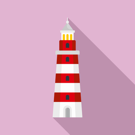 Beacon icon. Flat illustration of beacon vector icon for web design