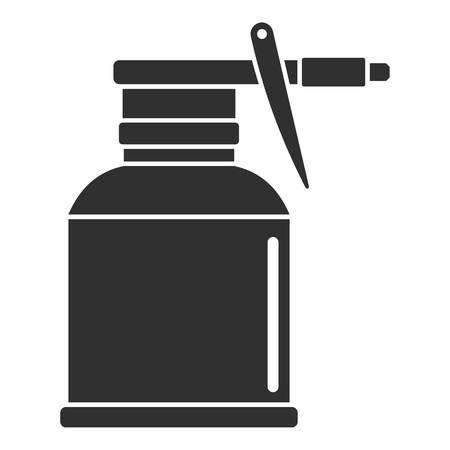 Car bottle spray icon, simple style