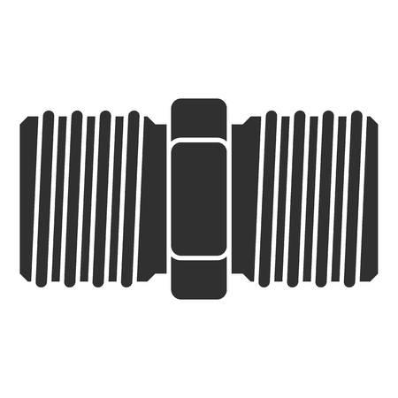 Icône de filetage. Simple illustration de l'icône vecteur filetage pour la conception web isolé sur fond blanc