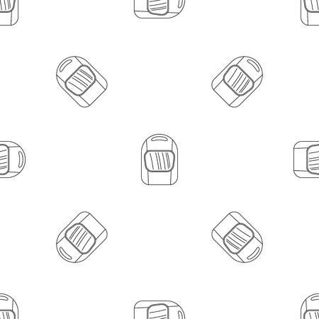 Welding helmet icon. Outline illustration of welding helmet vector icon for web design isolated on white background