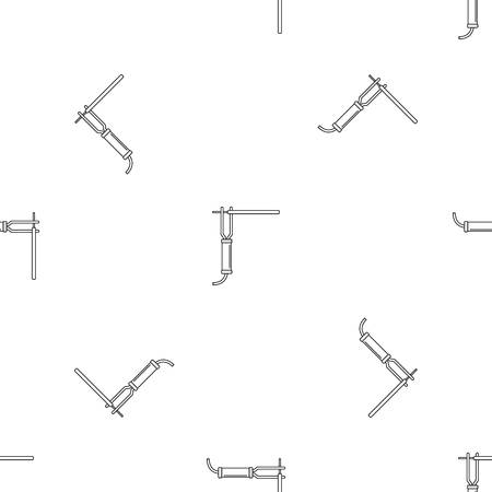 Welding electrode icon. Outline illustration of welding electrode vector icon for web design isolated on white background Illustration