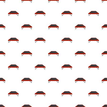Fashion trampoline pattern seamless vector repeat for any web design Illustration