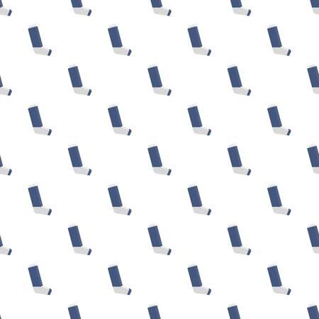 Repetición de vector transparente de patrón de inhalador de alergia para cualquier diseño web