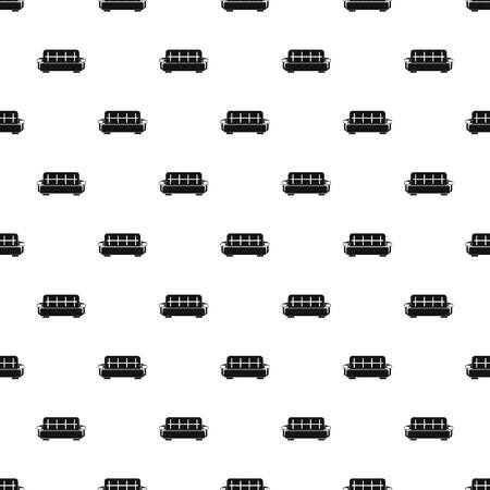 Stripped sofa pattern seamless vector repeat geometric for any web design Illustration